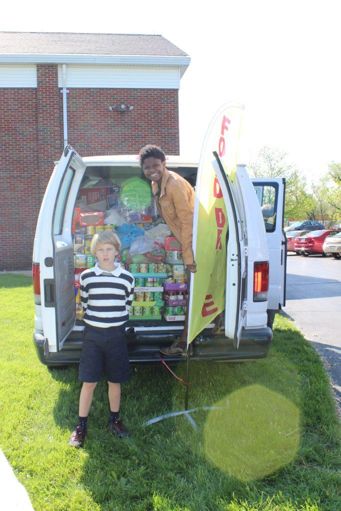 Fill The Van fills hearts, shelves: Affton Christian Food Pantry ...